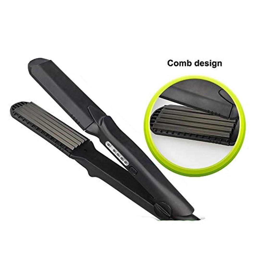 どこにでも絶対の毒ストレートヘアスティック 3Dフローティングセラミックトルマリンストレートヘアアイロン すべてのタイプの髪に適しています (色 : A, サイズ : Free size)