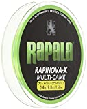 ラパラ(Rapala) ラピノヴァX マルチゲーム 150m 0.4号 8.8lb ライムグリーン Rapinova-X Multi Game 150M . RLX150M04LG