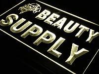 ADVPRO Beauty Supply Shop Enseigne Lumineuse LED看板 ネオンプレート サイン 標識 Yellow 600 x 400mm st4s64-i057-y