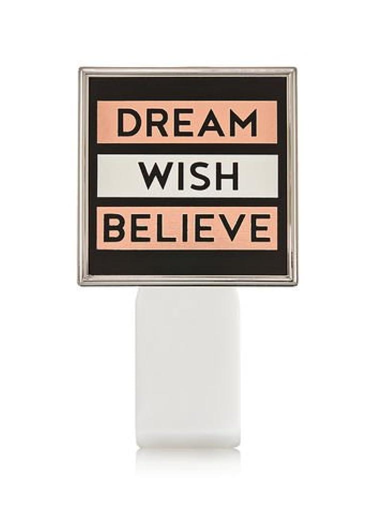 ノイズスカルク奪う【Bath&Body Works/バス&ボディワークス】 ルームフレグランス プラグインスターター (本体のみ) ドリーム ウィッシュ ビリーブ Wallflowers Fragrance Plug Dream Wish...