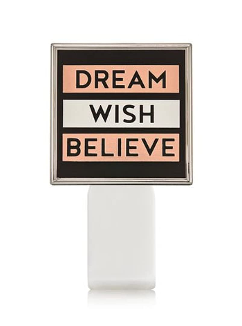 打撃髄どうやら【Bath&Body Works/バス&ボディワークス】 ルームフレグランス プラグインスターター (本体のみ) ドリーム ウィッシュ ビリーブ Wallflowers Fragrance Plug Dream Wish...