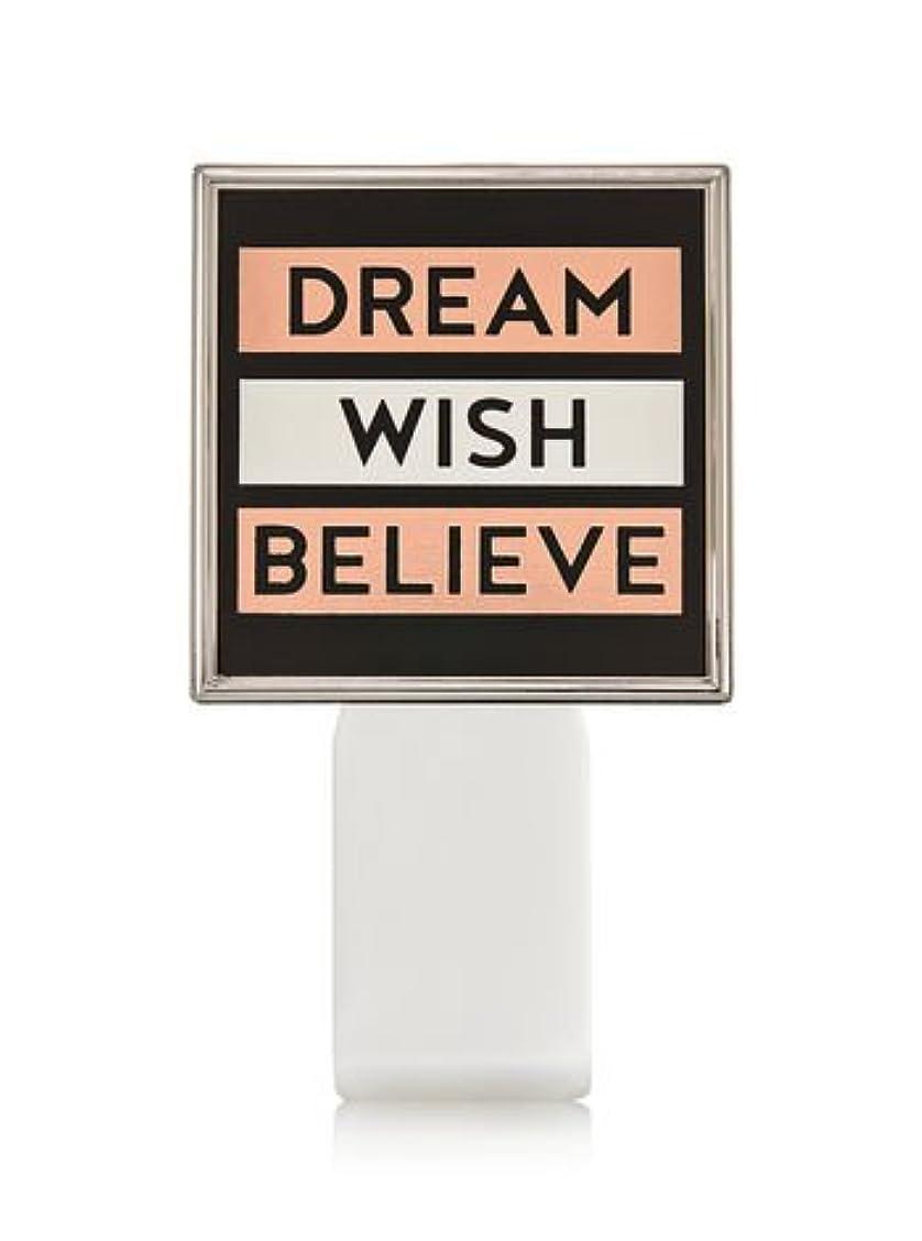 習熟度奴隷首謀者【Bath&Body Works/バス&ボディワークス】 ルームフレグランス プラグインスターター (本体のみ) ドリーム ウィッシュ ビリーブ Wallflowers Fragrance Plug Dream Wish...