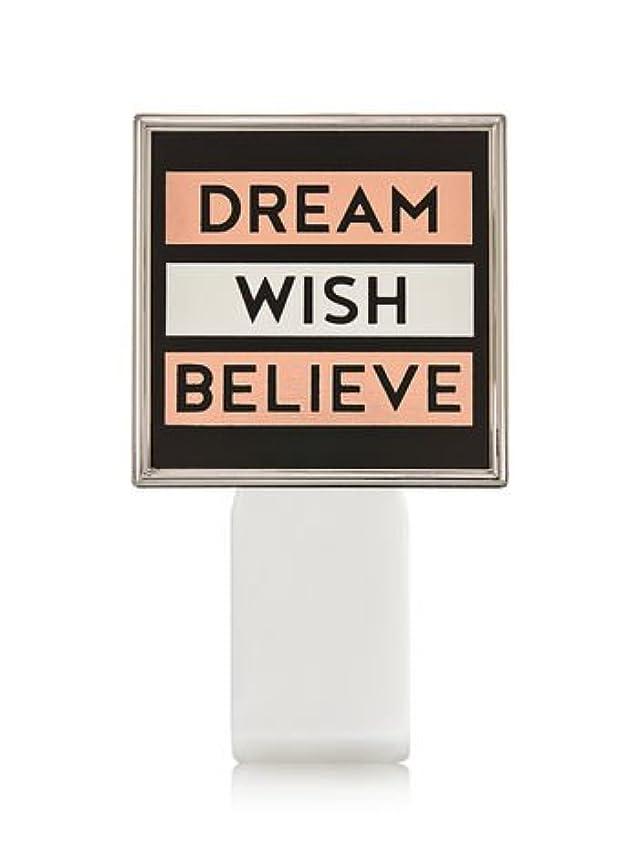留まるゼリー略す【Bath&Body Works/バス&ボディワークス】 ルームフレグランス プラグインスターター (本体のみ) ドリーム ウィッシュ ビリーブ Wallflowers Fragrance Plug Dream Wish...