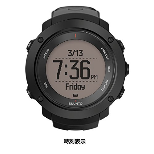 SUUNTO(スント) AMBIT3 VERTICAL BLACK 【日本正規品】 時刻表示 GPS コンパス 心拍計 Bluetooth [メーカー保証2年]