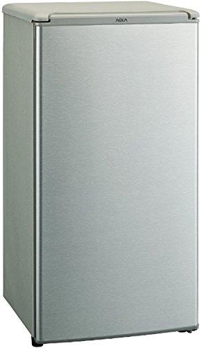 アクア 75L 1ドア冷蔵庫(直冷式)ブラッシュシルバーAQUA AQR-8G-S