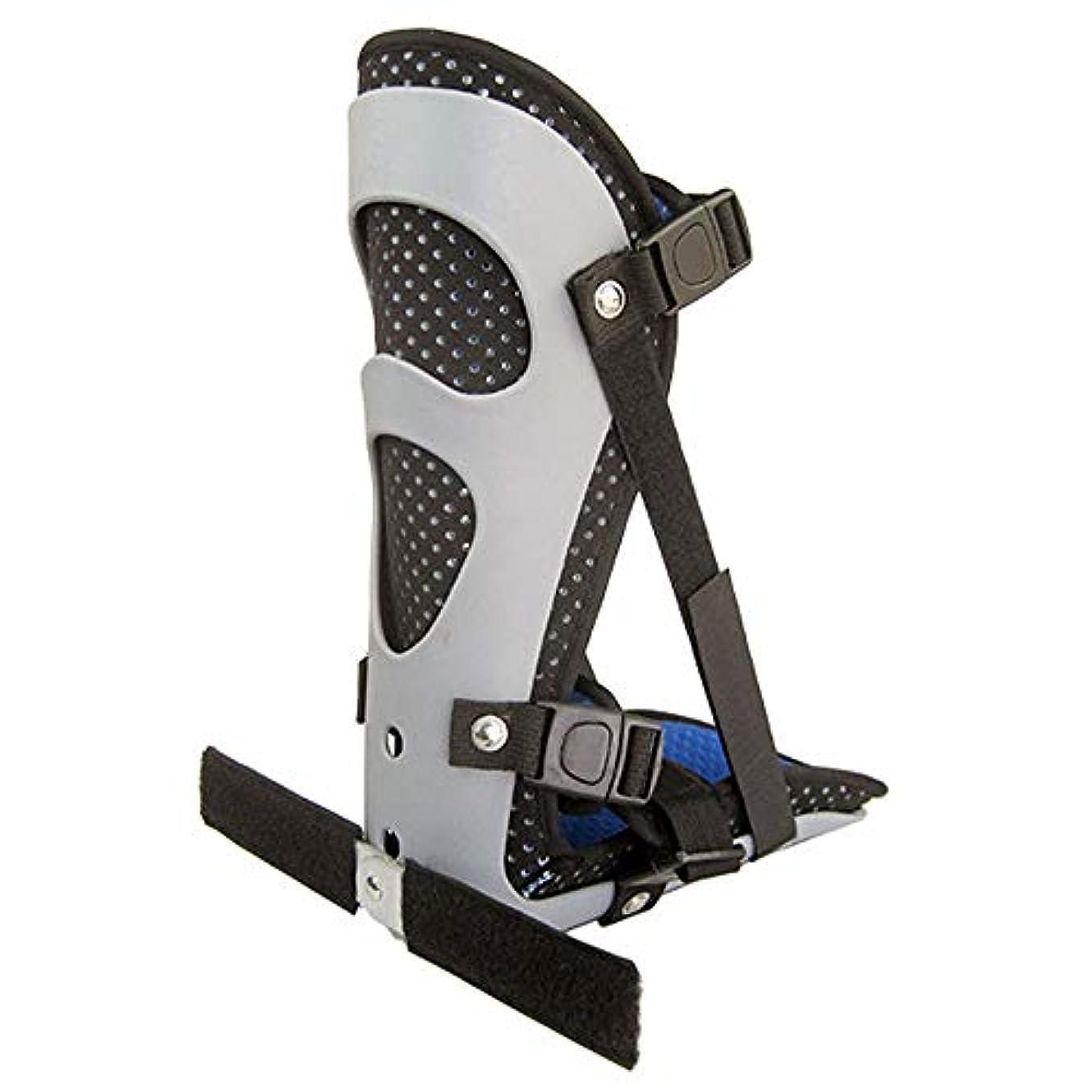 つなぐ宇宙飛行士焦げ足首サポートブレース、フットドロップスプリントガード捻rain装具骨折応急処置のための足首ブレース足底筋膜炎かかとの痛み,M