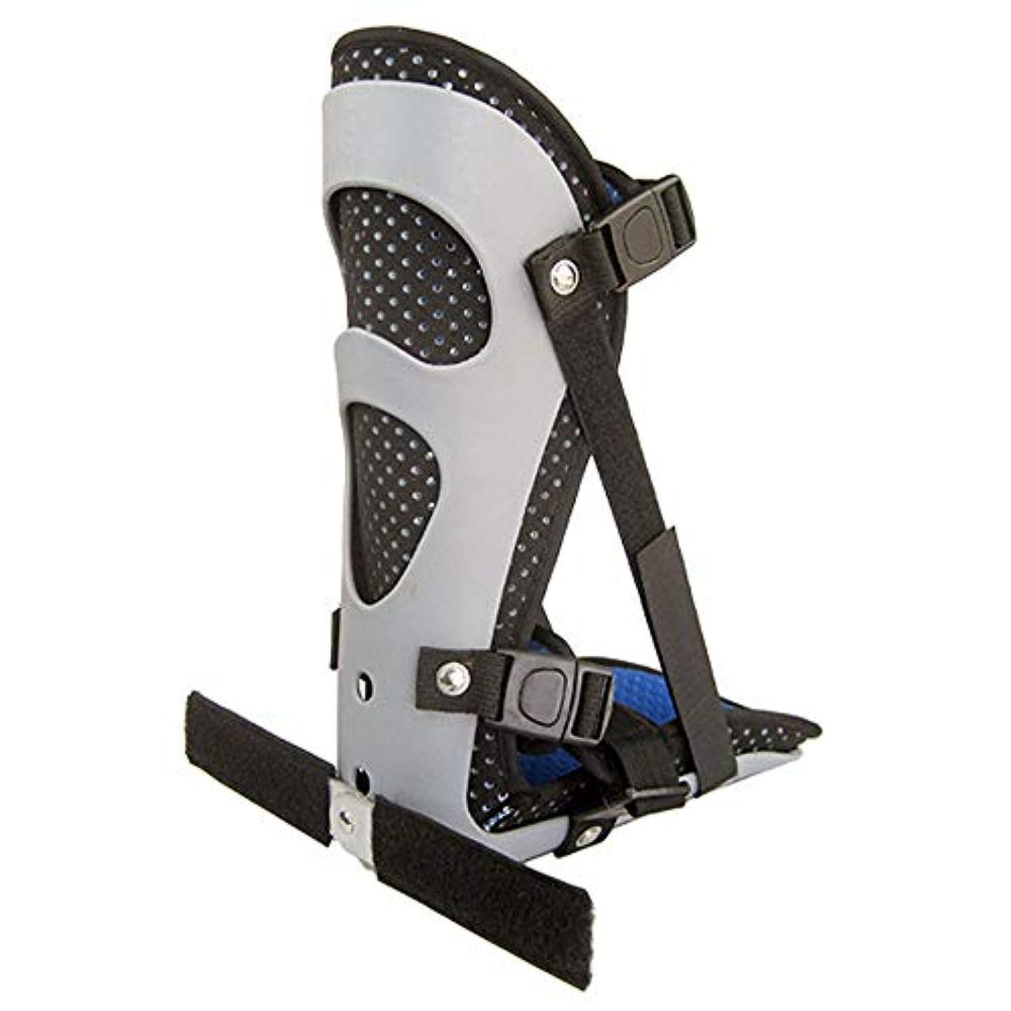 動開始顕現足首サポートブレース、フットドロップスプリントガード捻rain装具骨折応急処置のための足首ブレース足底筋膜炎かかとの痛み,M