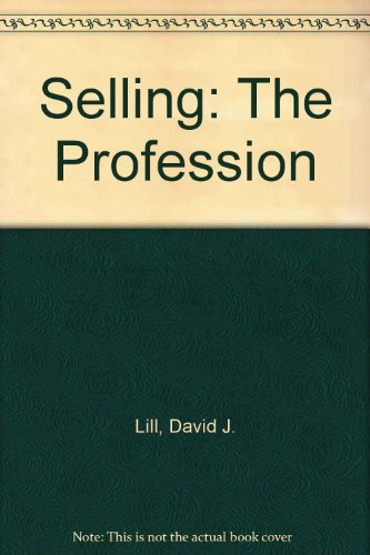 Download Selling: The Profession 0965220192