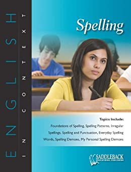 Spelling (English in Context) by [Publishing, Saddleback]
