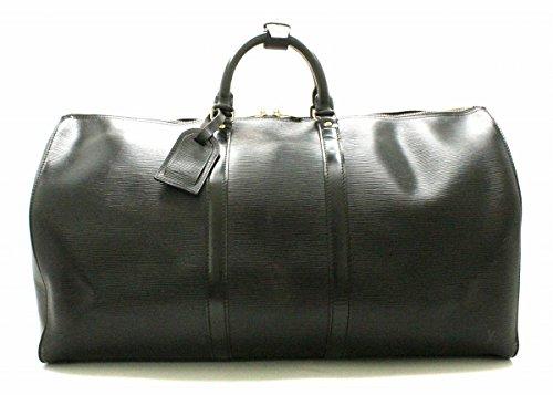 [ルイ ヴィトン] LOUIS VUITTON エピ キーポル60 ボストンバッグ 旅行カバン トラベルバッグ トラベルボストン ノワール ブラック 黒 M42942