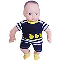 私のブルターニュのDucky Shorts Outfit for Bitty Baby dolls- 15インチ人形Clothes