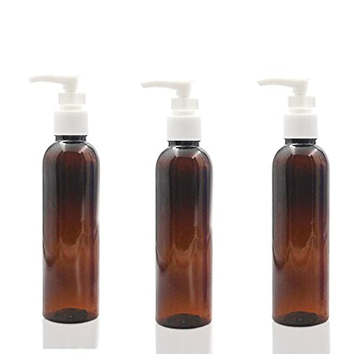 ミルクサークルワイヤー3PCS 150ml Plastic Round Pump Bottles for Cooking Sauces Essential Oils Lotions Liquid Soaps or Organic Beauty...