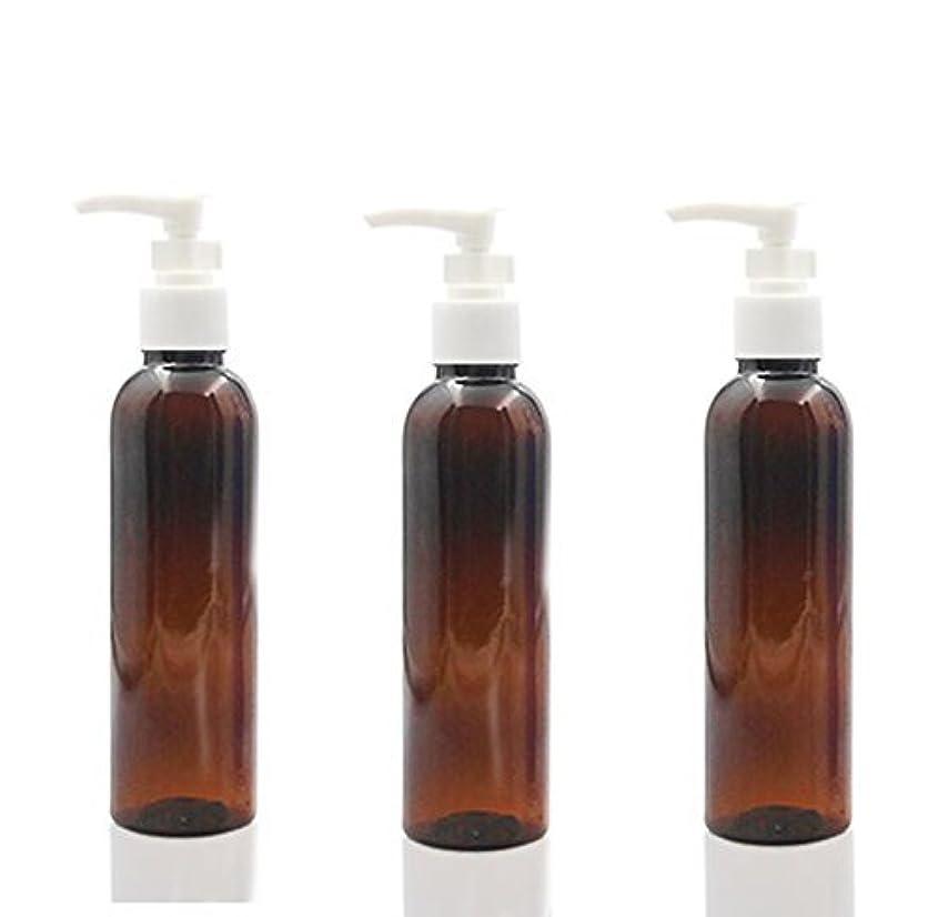 回復びん仮称3PCS 150ml Plastic Round Pump Bottles for Cooking Sauces Essential Oils Lotions Liquid Soaps or Organic Beauty...