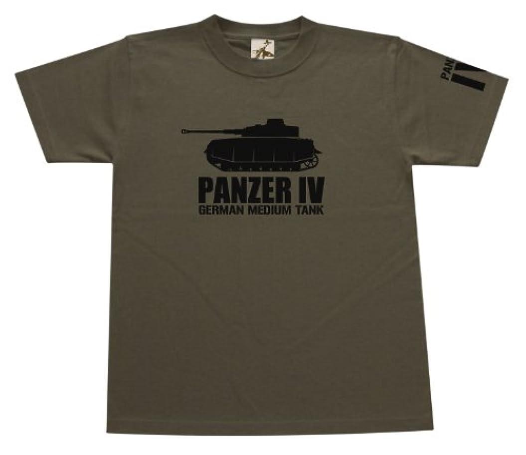 有名人ベールボタン(ギガント) GIGANT IV号戦車H型Tシャツ