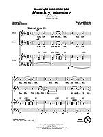 The Mamas And The Papas: Monday Monday (Arr. Emerson) (2-Part). For 2部合唱, ピアノ伴奏, 合唱