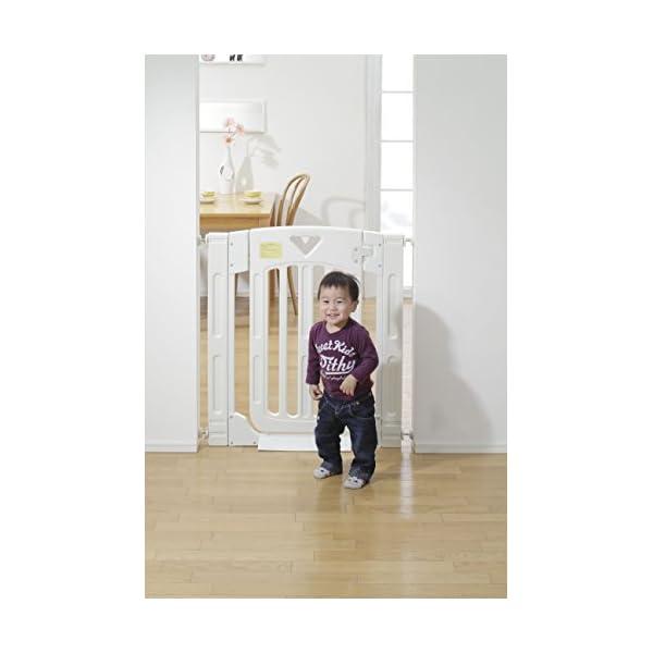 日本育児 ベビーゲート スマートゲイトII ミ...の紹介画像5