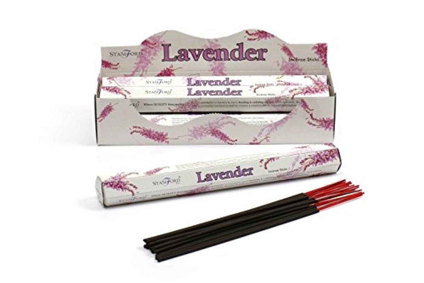 悪のニュース世紀Stamford Lavender Incense, 20 Sticks x 6 Packs by Stamford
