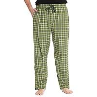 #followme Plaid Men's Pajama Pants PJ Bottoms for Sleeping and Lounge Wear