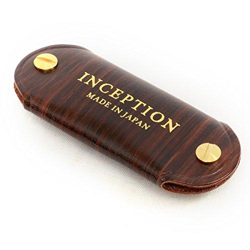 ( インセプション ) INCEPTION キーケース レザー 革 茶芯 ネジ式 キーホルダー メンズ ブラウン 茶 ブラック 黒 IPCK-01br