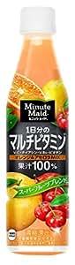 コカ・コーラ ミニッツメイド 1日分のマルチビタミン 果汁100% 350mlPET×24本