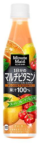 ミニッツメイド 1日分のマルチビタミン(350mL*24本入)
