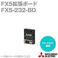 三菱電機(MITSUBISHI) FX5-232-BD FX5拡張ボード (RS-232C通信) (最大伝送距離 15m) NN