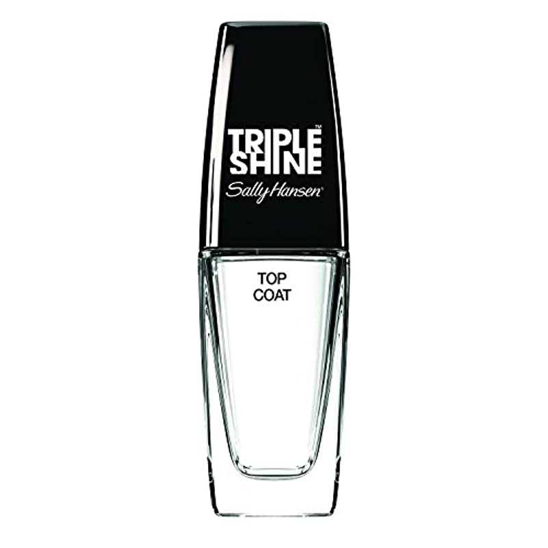 不完全な体操選手見込みSALLY HANSEN Triple Shine Top Coat Triple Shine Top Coat (並行輸入品)