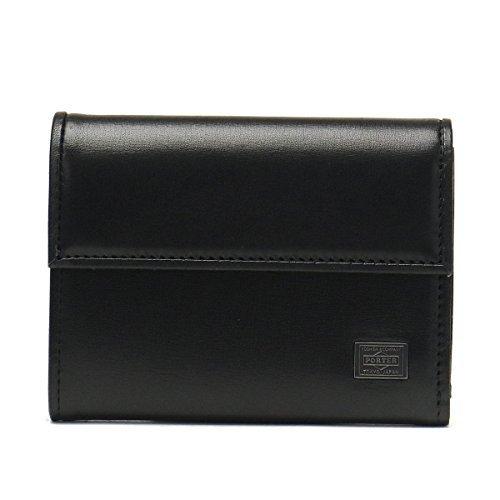 (ポーター) PORTER ミニ財布 [PLUME/プリュム] 1.ブラック