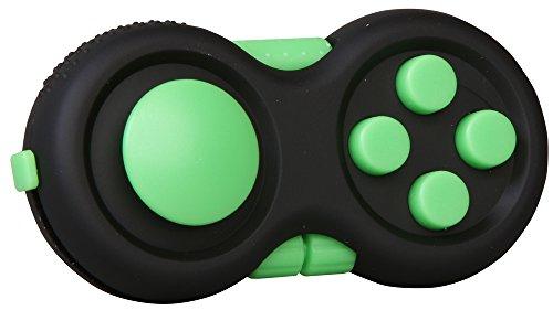 inFIT Fidget Pad ストレス解消パッド 不安・緊張リリース ADHD 脳トレ EDC フィジェットパッド FDP125G E.グリーン