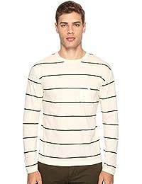 (トッド スナイダー) Todd Snyder メンズ トップス 長袖Tシャツ Wide Stripe Long Sleeve Tee [並行輸入品]