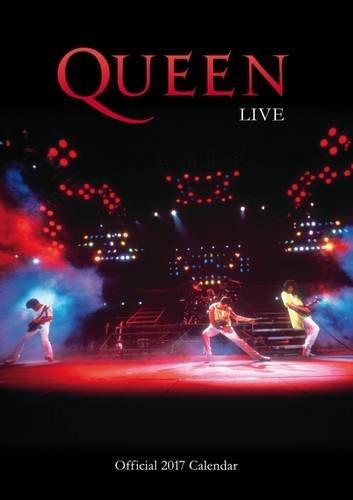 Queen Official 2017 A3 Calendar (Calendar 2017)