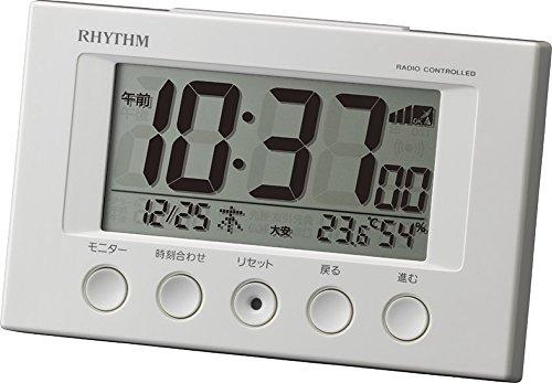 リズム時計 RHYTHM 電波 目覚まし 時計 フィットウェ...