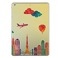 第6世代 iPad 9.7インチ 9.7inch iPad6 2018年モデル A1893 A1954 スキンシール apple アップル アイパッド タブレット tablet シール ステッカー ケース 保護シール 背面 人気 単品 おしゃれ おしゃれ 風景 気球 飛行機 010494
