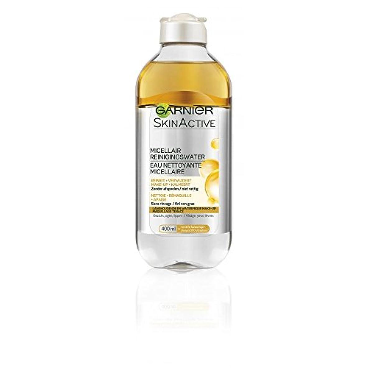 ユーモラス蒸発する信じられないガルニエ SkinActive Micellar Water - Removes Waterproof Make-Up 400ml/13.3oz並行輸入品