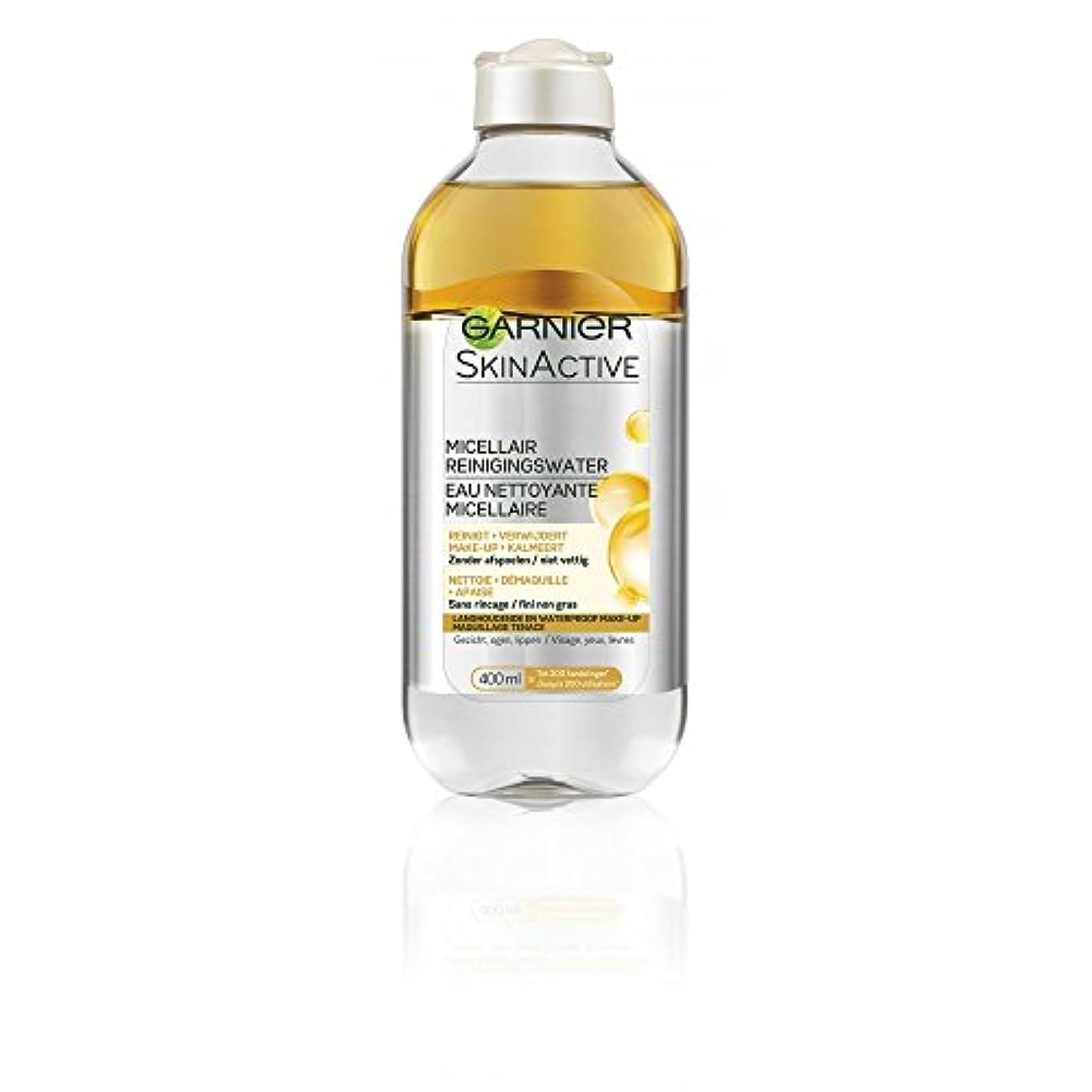 郵便物愛撫文明化ガルニエ SkinActive Micellar Water - Removes Waterproof Make-Up 400ml/13.3oz並行輸入品