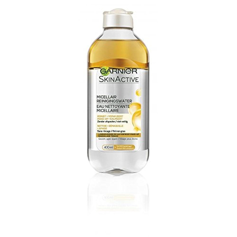抹消最近ヒョウガルニエ SkinActive Micellar Water - Removes Waterproof Make-Up 400ml/13.3oz並行輸入品