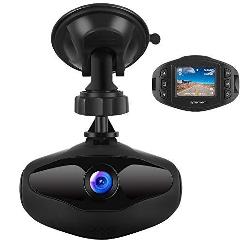 APEMAN ドライブレコーダー 小型ドラレコ SONY センサー+レンズ 1080P Full HD 1200万画素 超高画質 車載カ...