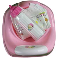 3 In 1 Potty time for baby doll Diaper, Potty & Milk bottle [並行輸入品]