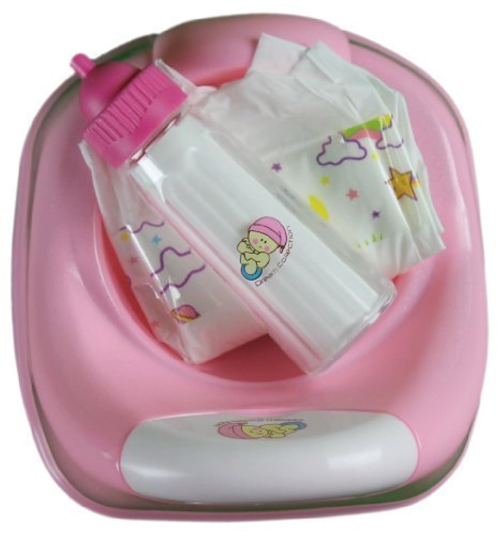 3 In 1 Potty time for baby doll Diaper, Potty & Milk bottle [並行輸入品]