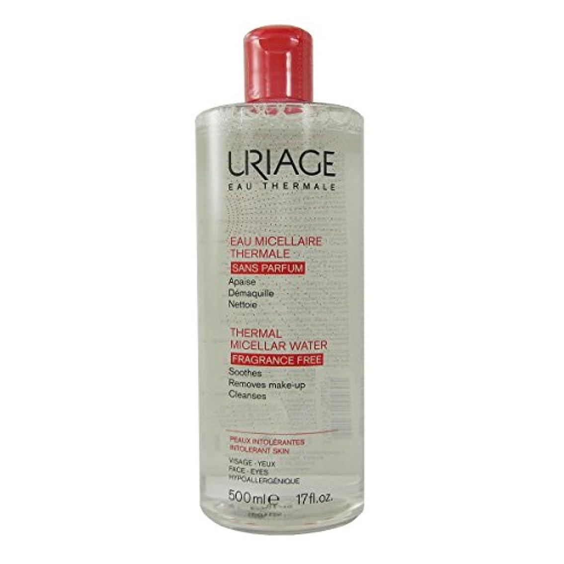 酒感じる新鮮なUriage Thermal Micellar Water Fragrance Free Intolerant Skin 500ml [並行輸入品]