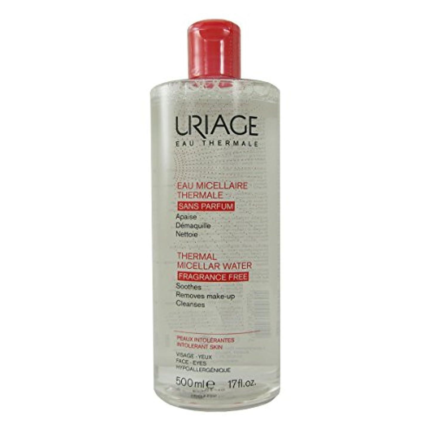 何十人も狂気事実上Uriage Thermal Micellar Water Fragrance Free Intolerant Skin 500ml [並行輸入品]