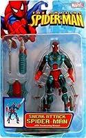 Amazing Spider-Man Sneak Attack Spider-Man Action Figure by Toy Biz [並行輸入品]