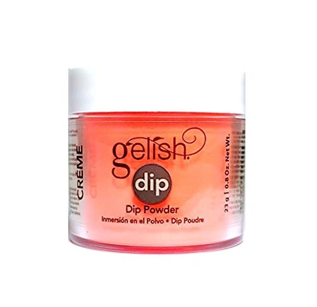 教授不完全基礎Harmony Gelish - Dip Powder - Tiki Tiki Laranga - 23g / 0.8oz