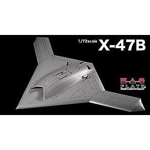 プラッツ 1/72 アメリカ海軍 無人爆撃機 X-47B プラモデル
