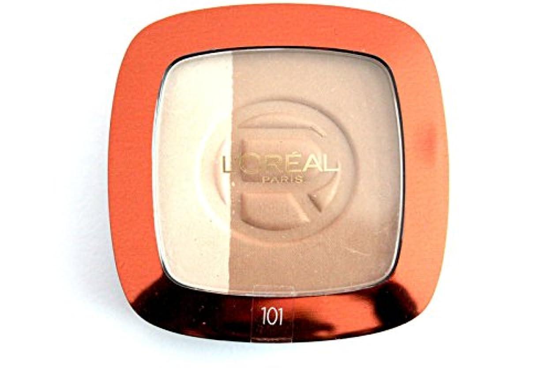 樫の木頂点コンプライアンスLoreal Glam Bronze hochglänzenden Powder Blonde Harmony 101