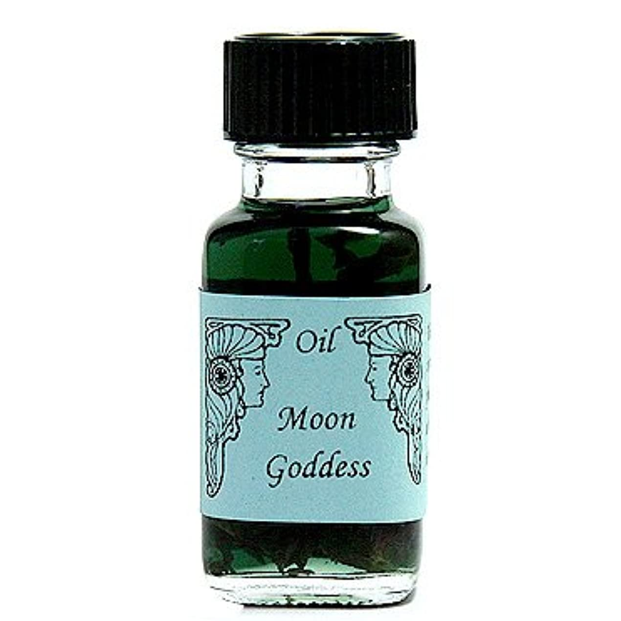 塗抹教授麻痺させるアンシェントメモリーオイル ムーンゴッデス (月の女神) 15ml (Ancient Memory Oils)