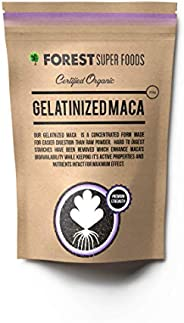 Forest Super Foods Certified Organic Gelatinized Maca Powder 250g (60 day supply). Direct from Peru. Nothing a