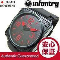 INFANTRY(インファントリー) IF-003-RD レッドインデックス ラバーベルト ミリタリーウォッチ/メンズウォッチ 腕時計[並行輸入品]