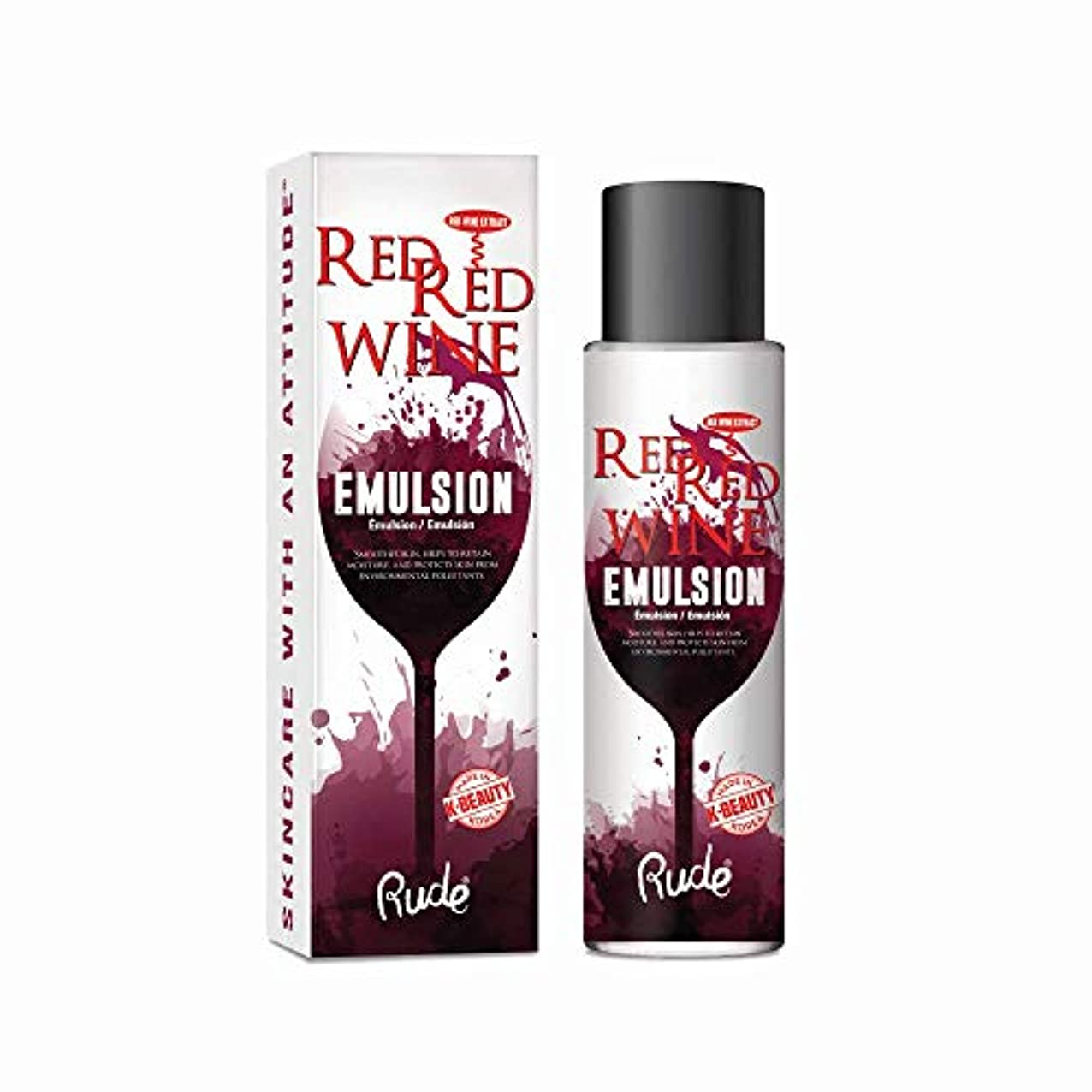 ディベート非難する地味な(3 Pack) RUDE Red Red Wine Emulsion (並行輸入品)