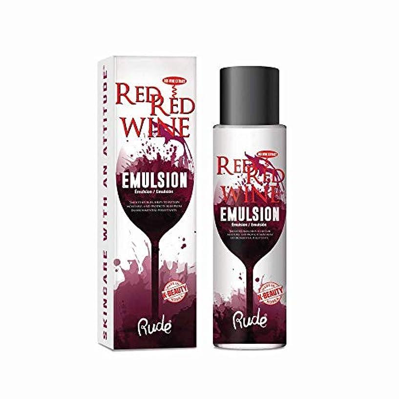 要旨粘性の間違いなく(6 Pack) RUDE Red Red Wine Emulsion (並行輸入品)